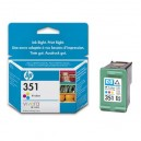 Cartuchos HP 351 Color (CB337EE) Originales