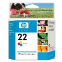 Cartucho original HP 22 Color 13 ml (C9352A)